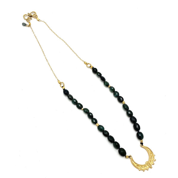 Tourmaline Moroccan Swing Necklace