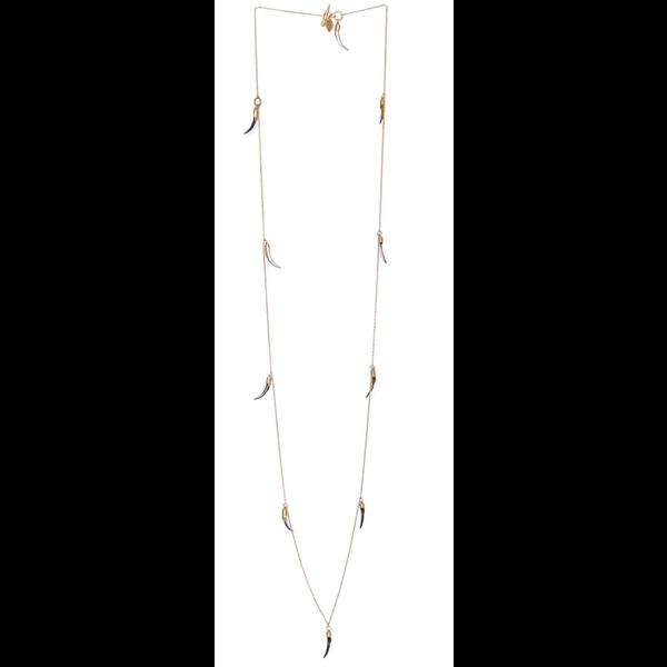 HBJ Multi Shard Paua Shell Necklace