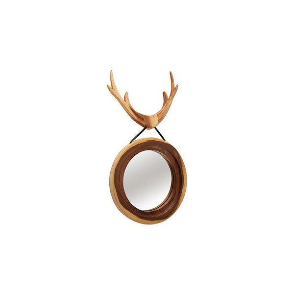 """Deer Hanging Mirror 20x2x38""""H"""