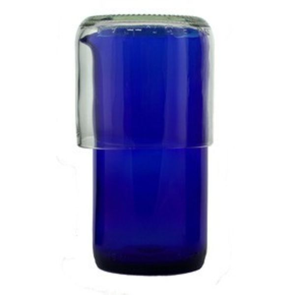 Cobalt Carafe with Tumbler