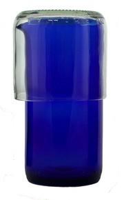 Cobalt Carafe with Tumbler