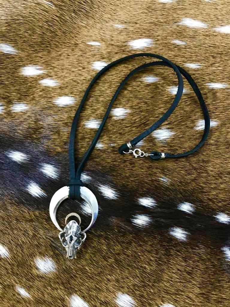 Sapphire and Diamond Ursa Necklace