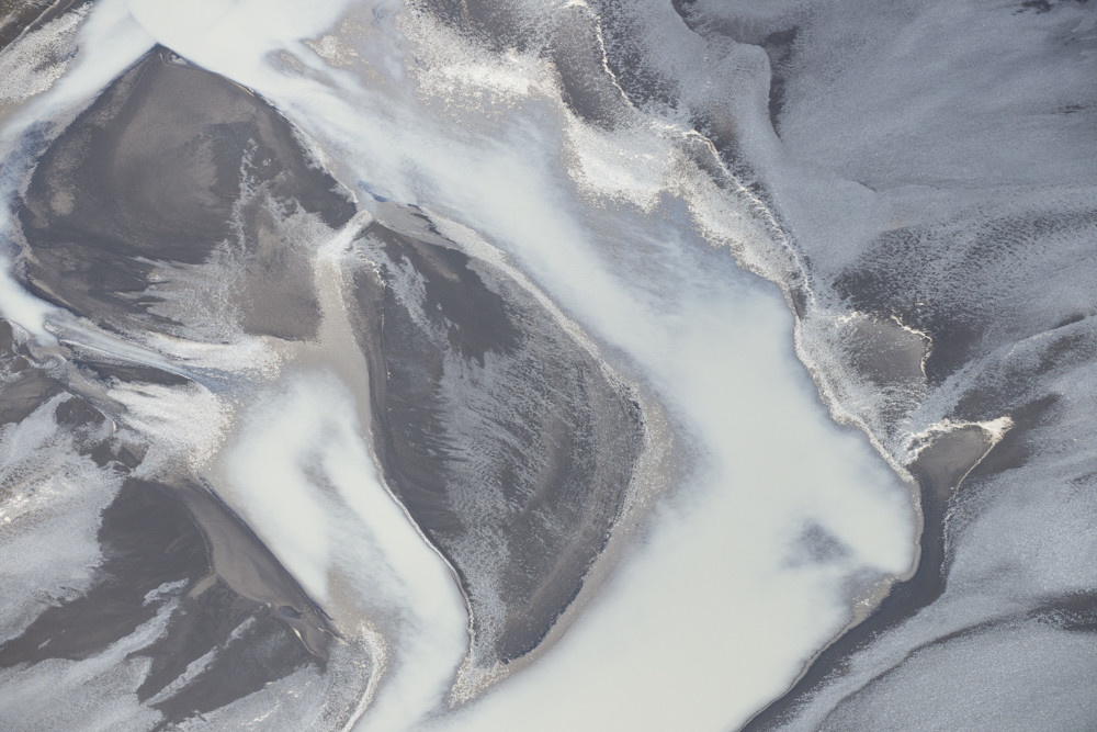 ICELAND AERIAL ABSTRACT 6020