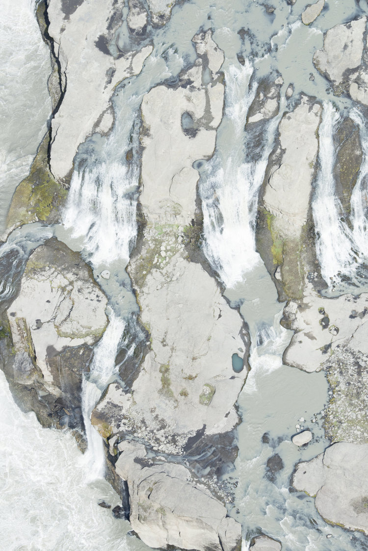 ICELAND AERIAL ABSTRACT 7185