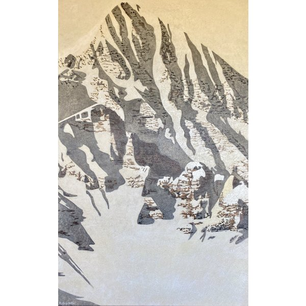 The North Chute - Wilson Peak  *Sold*