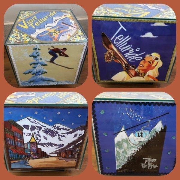 Telluride Winter Table II  *Sold*