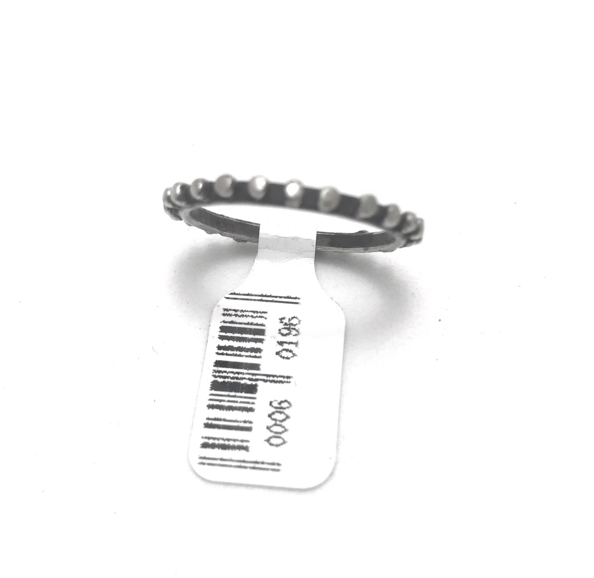 Bronze, Silver Plated Ring