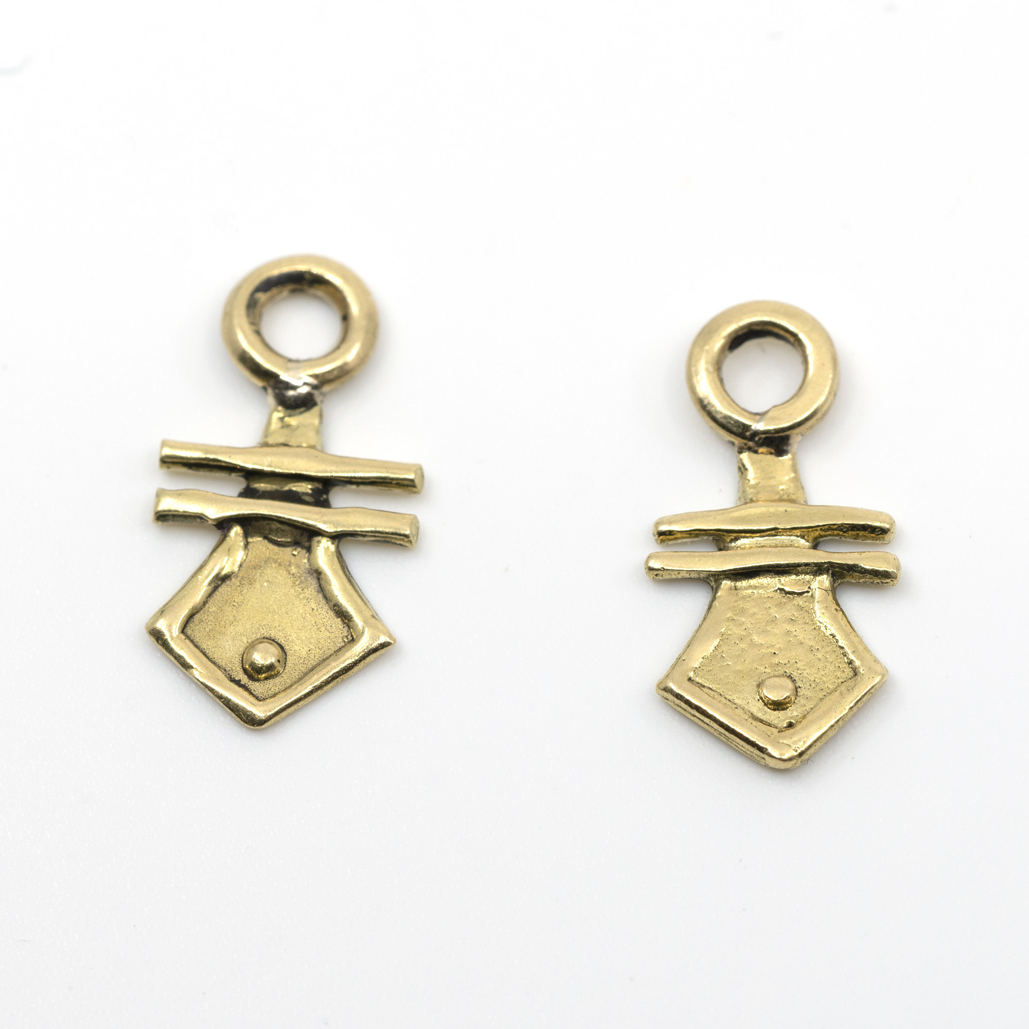 10K Gold Earring Charms