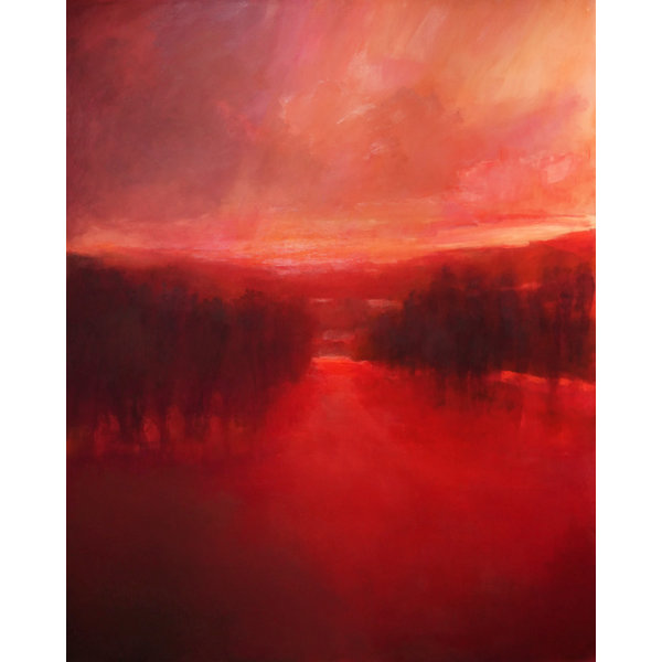 Red River Evening  *Sold*