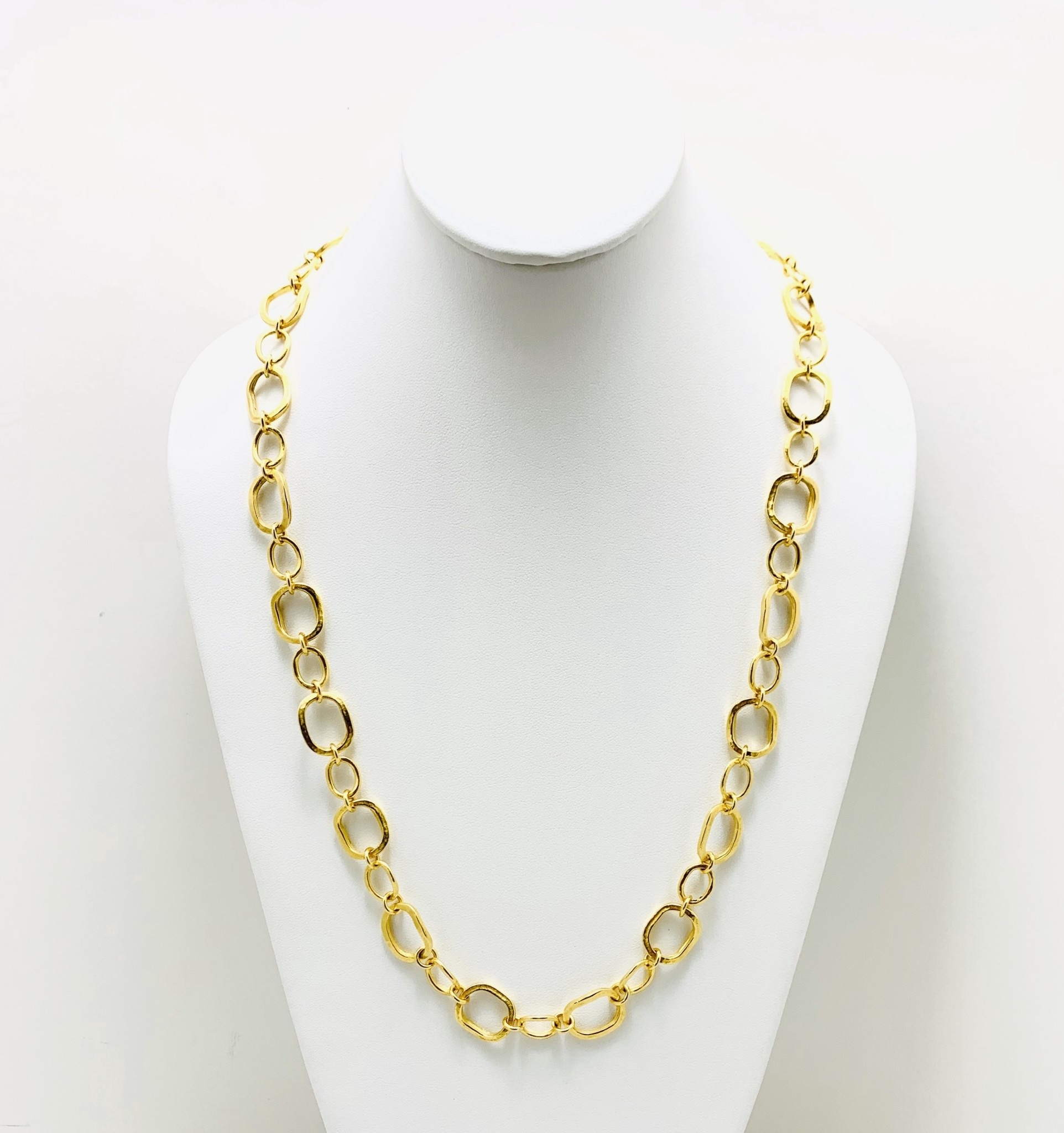 """27"""" Chunky Link Necklace"""