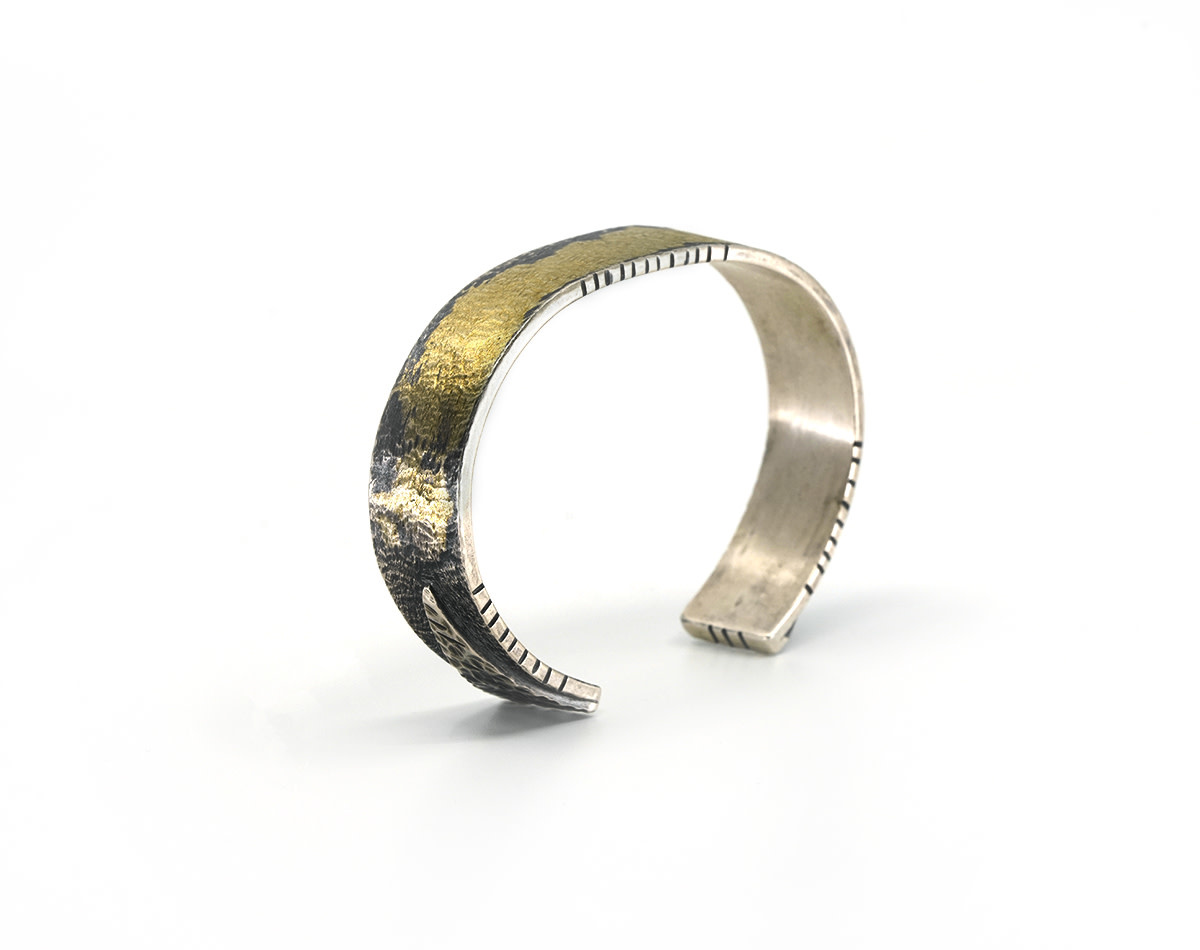 Cuff with Gold - Small