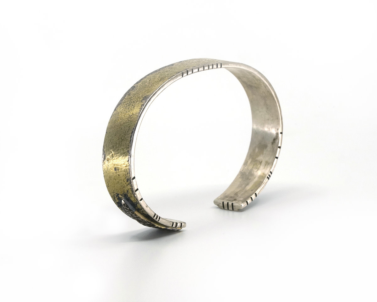 Cuff with Gold - Large