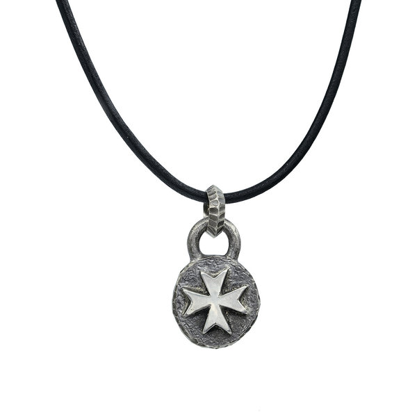 Maltese Cross Necklace