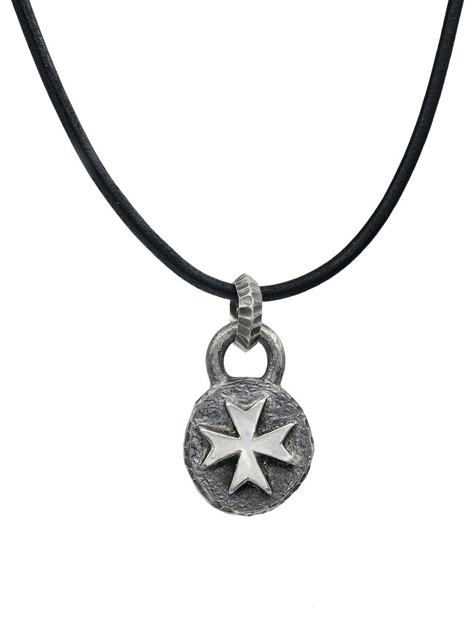 Maltese Cross Necklace