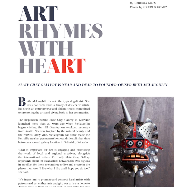 Rock & Vine | Art Rhymes with Heart | Spring 2020