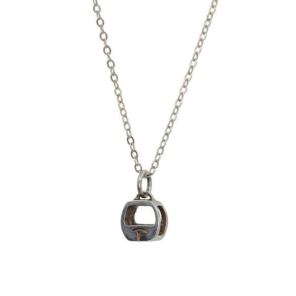 Gondola Pendant - Sterling Silver