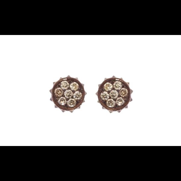 Large Flare Earrings 18K Gold