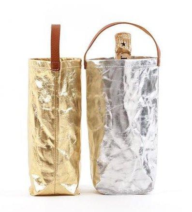 Wine Bag - Metallo Gold