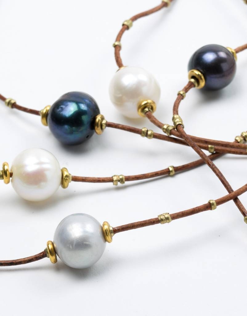 SINGLE PEARL CHOKER