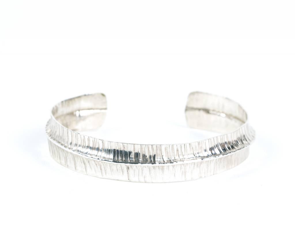 Ridge Way -  Cuff Bracelet