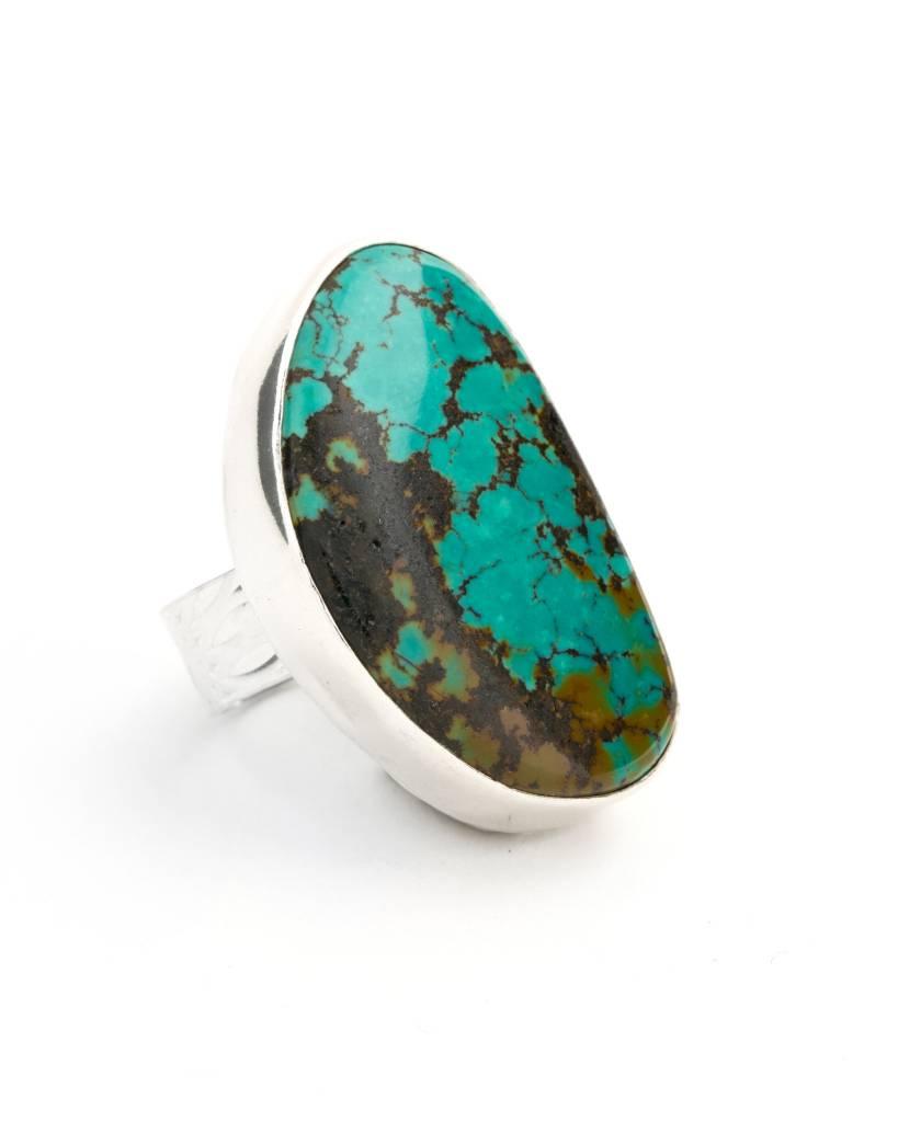 Caribbean - Large Stone Ring