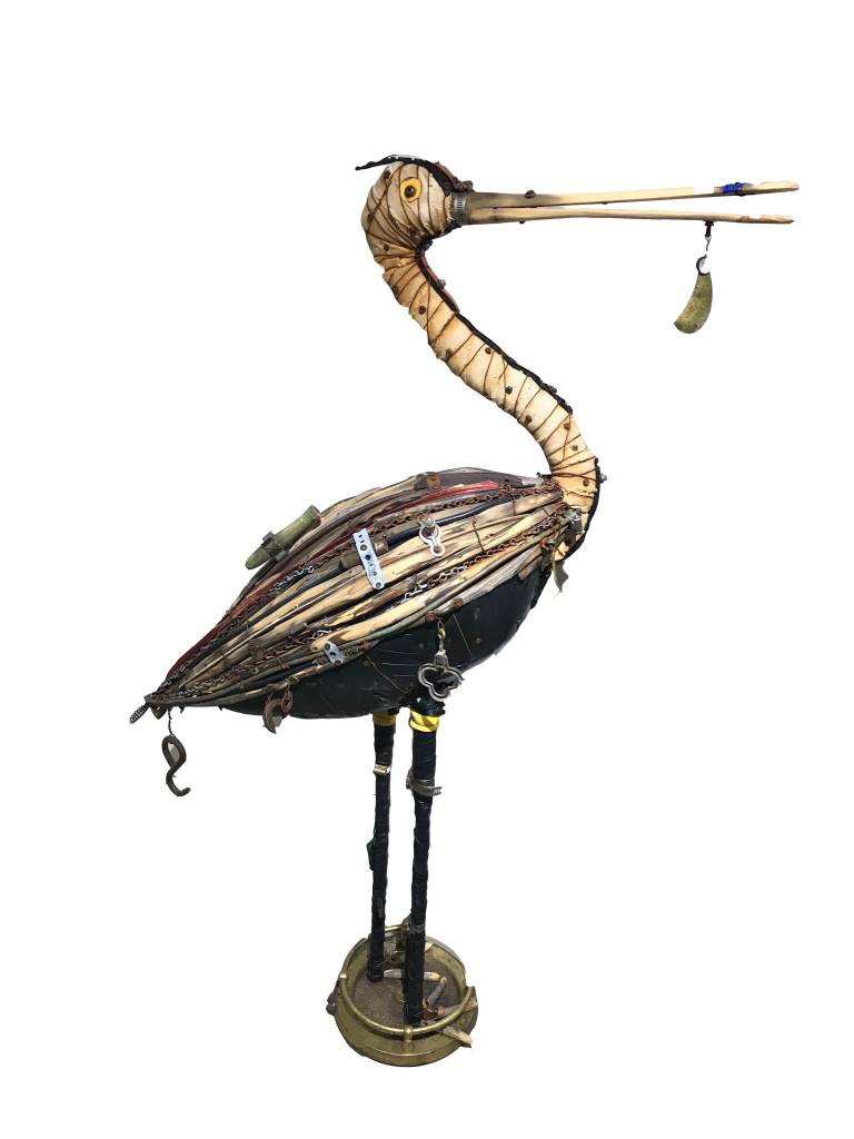 ROSEATED SPOONBILL  *Sold*