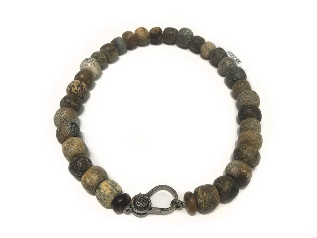 Stegodon Bone Necklace