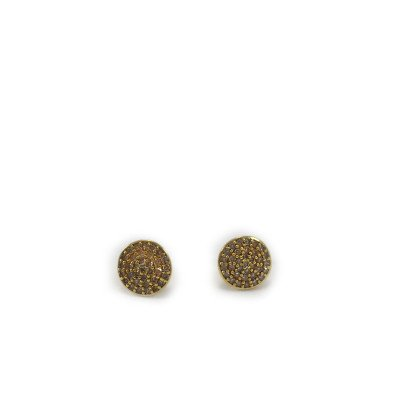 Pave Rounds Earrings