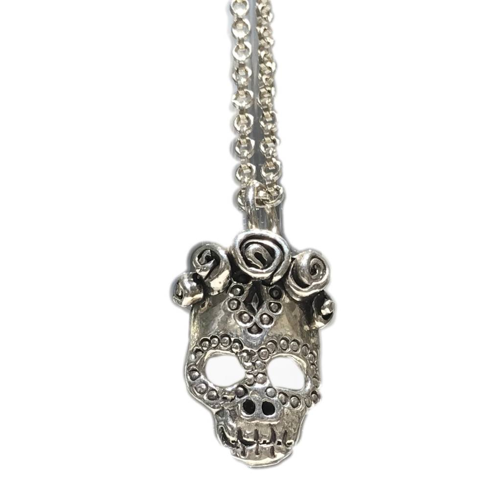 Frida Day of the Dead Pendant