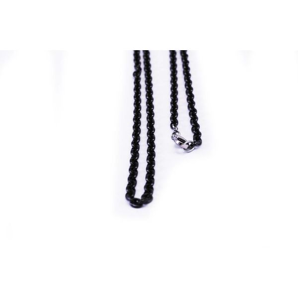 Thick Blackened Steel Chain