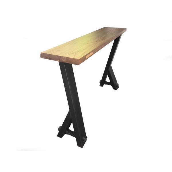 Walnut Console Table with Y Legs  *Sold*