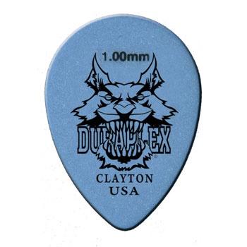 Clayton DURAPLEX PICK SMALL TEARDROP .88MM /12