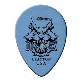 Clayton Clayton DURAPLEX PICK SMALL TEARDROP .60MM /12