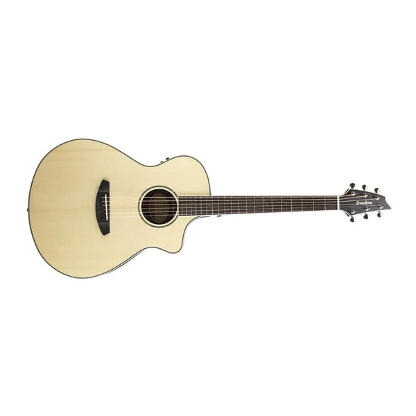Breedlove Breedlove Pursuit Exotic Concert CE Engelmann-Striped Ebony