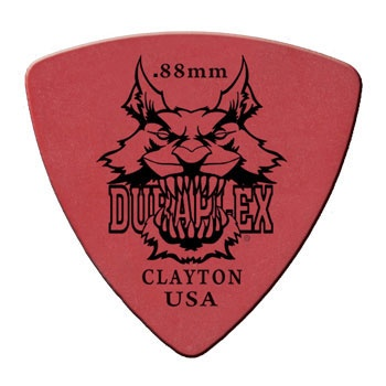 Clayton DURAPLEX PICK ROUNDED TRIANGLE 1.14MM /12
