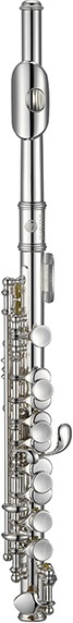 Jupiter Jupiter Piccolo Silver-Plated Headjoint, Body and Keys, cylindrical bore, stainless steel springs, ABS molded case (KC-03CA)