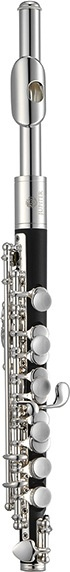 Jupiter Jupiter Piccolo Silver-Plated Headjoint, ABS Resin Body, Silver-Plated Keys, conical bore, stainless steel springs, ABS molded case (KC-03CA)