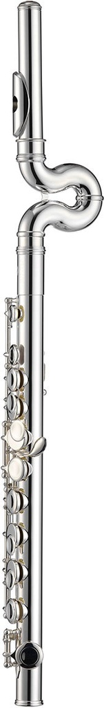 Jupiter Jupiter Flute Prodigy Model, Plateau, WaveLine Technology Headjoint, one-piece body to low D, assisted fingering, silver-plated body, keys and headjoint, stainless steel springs, includes acrylic instrument stand, swab, and form-fitted zippered case (KC-0