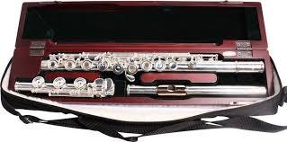 Pearl Pearl Elegante Series Flute:  Off-Set, Open Hole, B foot, w/Split E