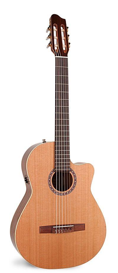 La Patrie La Patrie Concert CW QIT Classical Guitar - with cut away