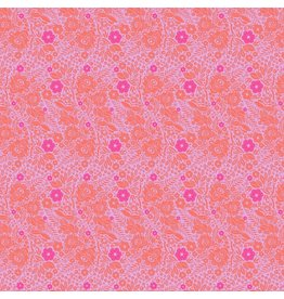 Anna Maria Horner ON SALE-Passionflower, Lace in Marmalade, Fabric Half-Yards PWAH132
