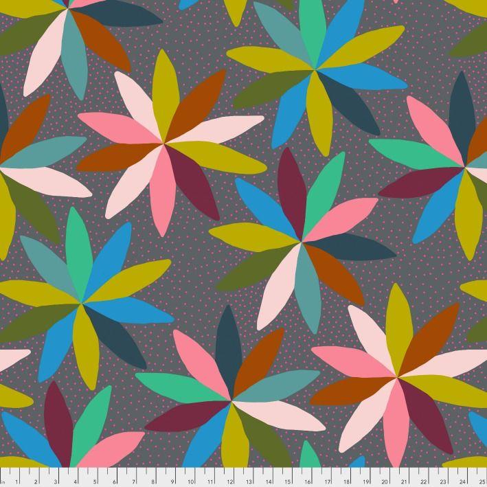 Anna Maria Horner Passionflower, Cartwheels in Jump, Fabric Half-Yards PWAH127