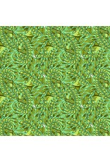 Tula Pink Zuma, Stingray in Seaglass, Fabric Half-Yards PWTP123