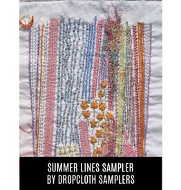 Dropcloth Samplers Summer Lines Sampler, Embroidery Sampler from Dropcloth Samplers