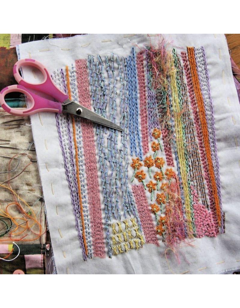 Dropcloth Samplers Summer Lines Sampler, Embroidery Sampler from Dropcloth Samplers
