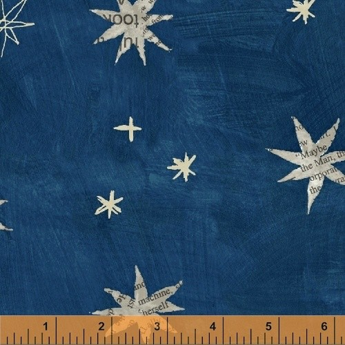 PD's Carrie Bloomston Collection Wonder, Stars in Navy, Dinner Napkin