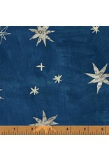 Carrie Bloomston Wonder, Stars in Navy, Fabric Half-Yards 50517