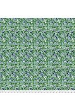 Natalie Malan Georgia Blue, Sprinkler in Navy, Fabric Half-Yards PWNM012