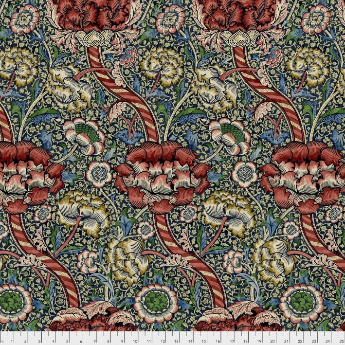 PD's William Morris Collection Morris & Co., Montagu Wandle in Medici, Dinner Napkin