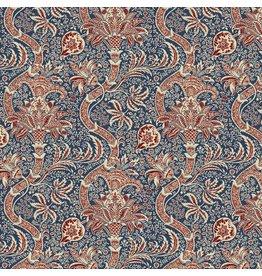William Morris & Co. Morris & Co., Montagu Indian in Medici, Fabric Half-Yards PWWM017